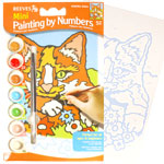 Kitten Painting By Numbers