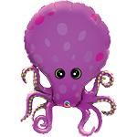 Octopus Supershape Foil Balloon