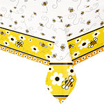 Bumble Bee Themed Tablecover - 120cm x 180cm