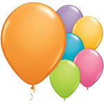 "11"" Latex Balloons - pack of 100 - Festive Colours"