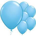 "11"" Latex Balloons - pack of 100 - Standard Pale Blue"