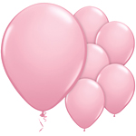 "11"" Latex Balloons - pack of 100 - Standard Pink"