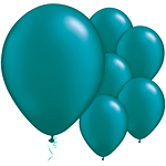 "11"" Latex Balloons - pack of 100 - Pearl Teal"