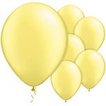 "11"" Latex Balloons - pack of 100 - Pearl Lemon"