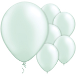 "11"" Latex Balloons - pack of 100 - Pearl Sea Green"