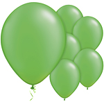 "11"" Latex Balloons - pack of 100 - Pearl Lime Green"