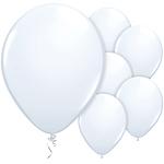 "11"" Latex Balloons - pack of 25 - Standard White"