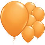 "11"" Latex Balloons - pack of 25 - Standard Orange"