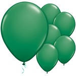 "11"" Latex Balloons - pack of 25 - Standard Green"