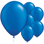 "11"" Latex Balloons - pack of 25 - Sapphire Blue"