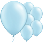 "11"" Latex Balloons - pack of 25 - Light Blue"