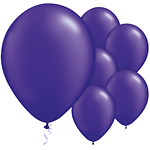 "11"" Latex Balloons - pack of 25 - Pearl Quartz Purple"