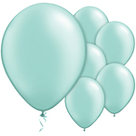 "11"" Latex Balloons - pack of 25 - Pearl Mint Green"