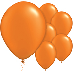 "11"" Latex Balloons - pack of 8 - Standard Orange"