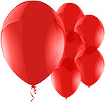 "11"" Latex Balloons - pack of 8 - Pearl Red"