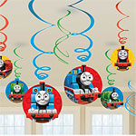 Thomas the tank engine hanging decorations