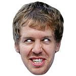 Sebastian Vettel Mask - each