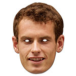 Andy Murray Celebrity Mask