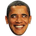 Barack Obama Celebrity Mask