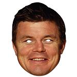 Brian ODriscoll Celebrity Mask
