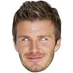 David Beckham Celebrity Mask