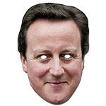 David Cameron Celebrity Mask