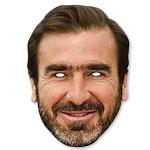 Eric Cantona Celebrity Mask