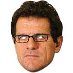 Fabio Capello Celebrity Mask