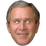 George Bush Celebrity Mask