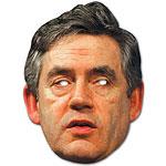 Gordon Brown Celebrity Mask