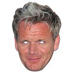 Gordon Ramsey Celebrity Mask