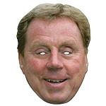 Harry Redknapp Celebrity Mask