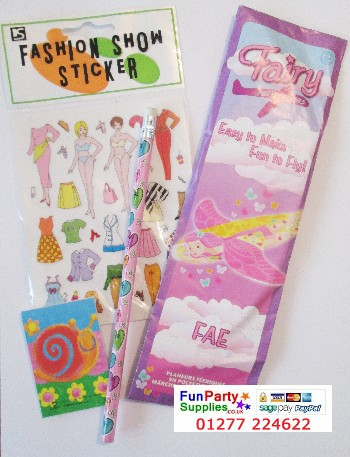 New Budget Girls Fashion Filled Party Bag - each