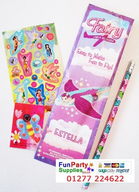 New Budget Disney Fairies Filled Party Bag - each