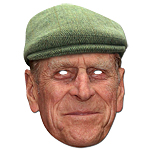 Prince Philip (Hat) Royal Family Celebrity Mask
