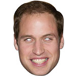 Prince William Royal Family Celebrity Mask