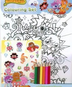 Moshi Monsters Colouring set by Fun Party Supplies