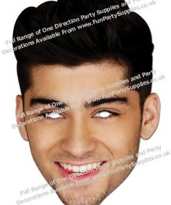 Zayn Malik One Direction Mask