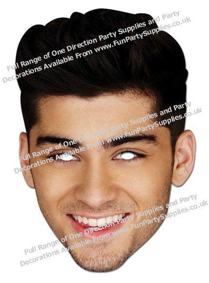 Zayn Malik One Direction Mask