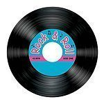 Rock n Roll Record Coasters - pack of 8