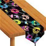Rock n Roll table runner - 6 foot long