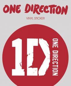 One Direction 1D Sticker - 10x15cm
