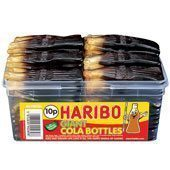 Haribo Giant Cola Bottles Tub - Pack of 60