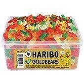 Haribo Gold Bears Tub - pack of 600