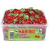 Haribo Happy Cherries Tub - pack of 120