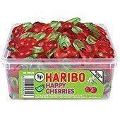 Haribo Happy Cherries Tub - pack of 120