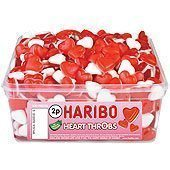 Haribo Heart Throbs Tub - pack of 300