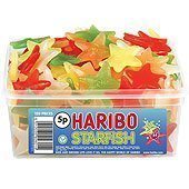 Haribo Haribo Starfish Tub - pack of 120