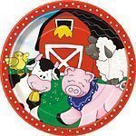 Farm Friends Plates - pack of 8
