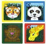 Jungle Animal Sliders - pack of 10